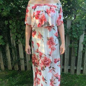 Show Me Your MuMu Hacienda Floral Maxi Dress
